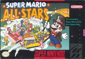 Super Mario All-Stars SNES box