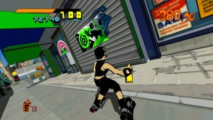 Jet set radio paint