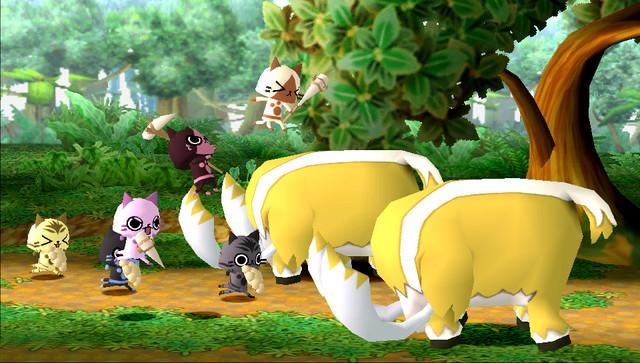 モンハン日記 ぽかぽかアイルー村 Monster Hunter Diary MonHun Nikki Poka Poka Airu Mura Village 640