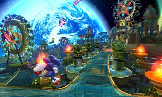Sonic Colors Sega Wii