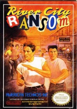 River City Ransom NES Box