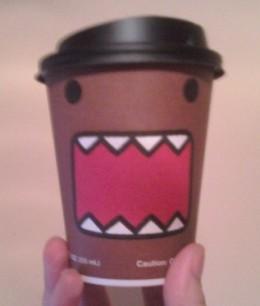 7-11 7-Eleven Domo-kun coffee cup