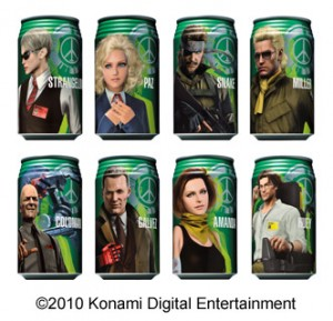 Metal Gear Solid Peace Walker Mountain Dew