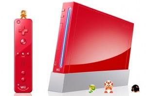Red Wii Remote Super Mario Bros 25th Anniversary