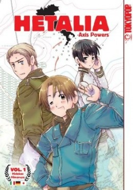 Hetalia Axis Powers Tokyopop Manga ヘタリア