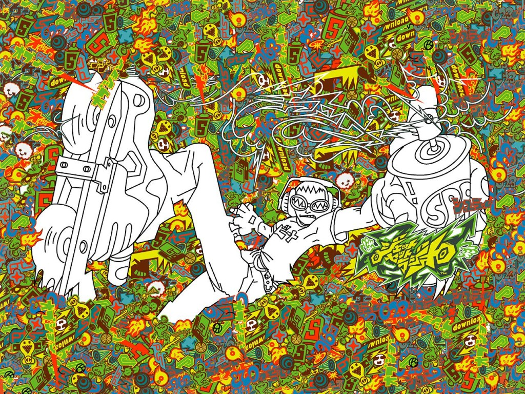 JSR header jet set radio