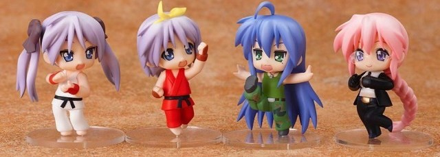 Lucky Star Street Fighter Nendroid Petit