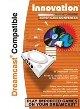 Innovation Dreamcast Compatible Super Game Adapter Boot Disk