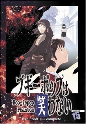 The BoogiePop Phantom DVD collection anime