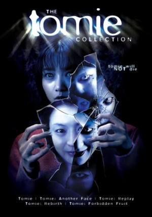 The Tomie Movie Collection DVD set