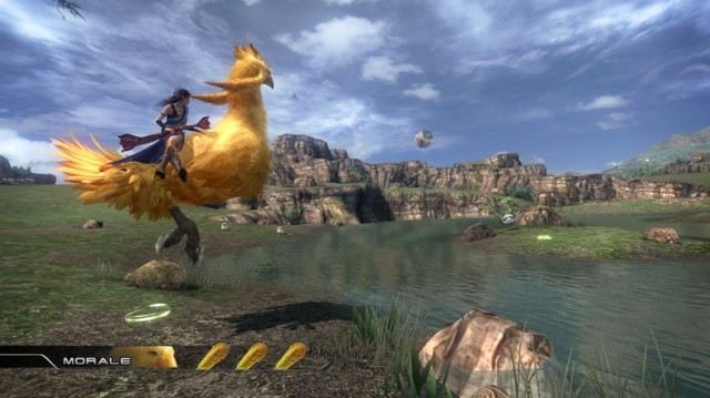 Final Fantasy XIII Xbox 360 Chocobo Screenshot