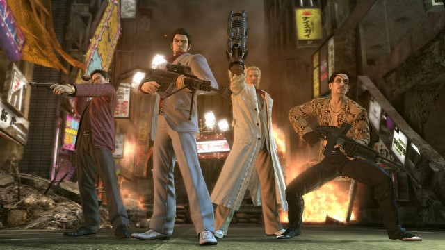 Yakuza Of the End PS3