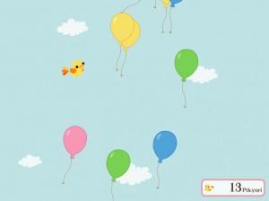 Poupee Girl Go Go Piyo Balloon