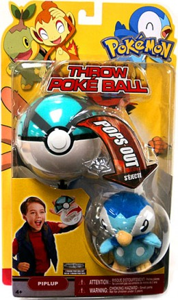 Pokemon Throw Poke Ball Piplup