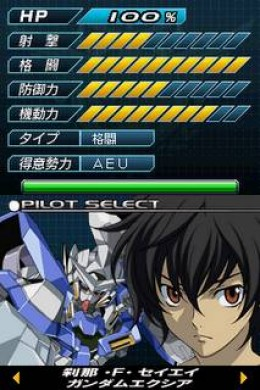 Mobile Suit Gundam 00 DS