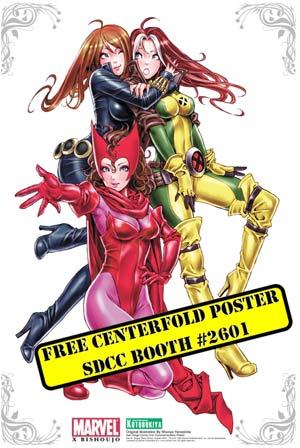 Kotobukiya comic con san diego 2009 free bishoujo poster